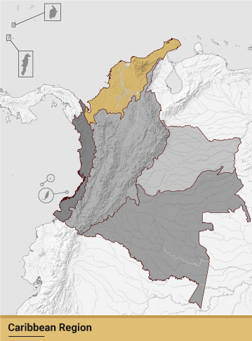 Caribbean Region of Colombia